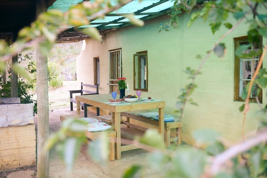 Self-catering cottage on Blommekloof farm in Ruiterbos, near Mossel Bay. Accommodation in Mossel Bay