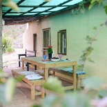 Relaxing breakaways for pensioners at Blommekloof, in the Leeukloof valley, near Ruiterbos, between Mossel Bay and Oudtshoorn, Garden Route, South Africa,